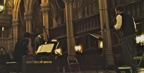 Luce Trio in Church