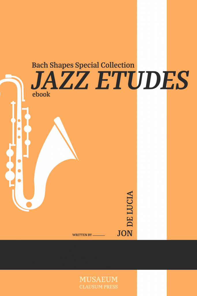 Bach Shapes Jazz Etudes Cover